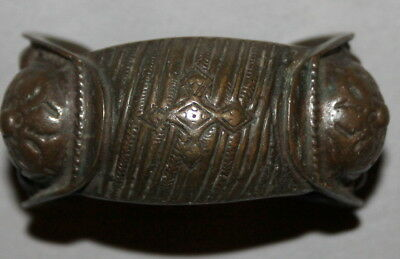 Antique Greek Orthodox Folk Crusader Bronze Fertility Bracelet