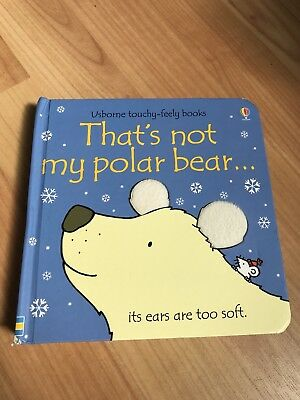 Usborne Book That's Not My Pola Bear