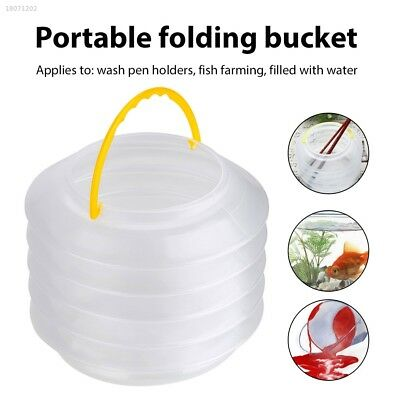 2018 Portable Multifunction Art Supplies Bucket Outdoor Cleaning Plastic 8E6F