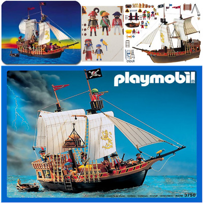 Playmobil 3750 3053 3550 Pirate Ship Spare Parts Replacements *Free UK P+P*