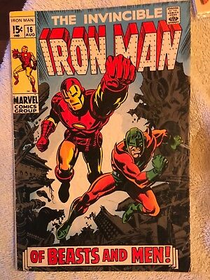 Iron Man 16 Unicorn appearance George Tuska artist