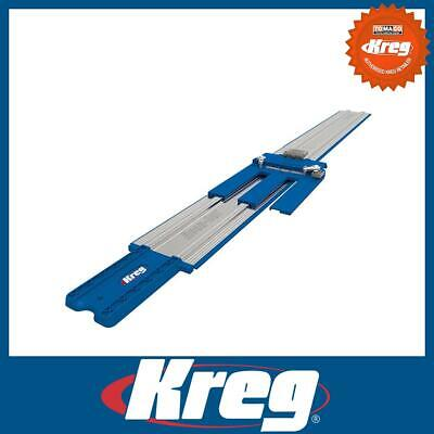 "Kreg Accu-Cut 48"" 122cm Circular Saw Guide Rail Track System for Woodworking"