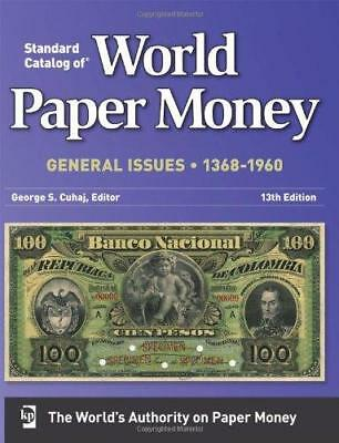 Krause Standard Catalog of Paper Money 1368-1960 13th Edition Book