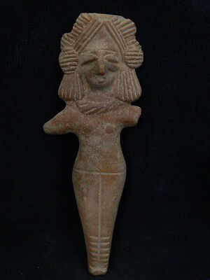 Ancient Large Size Teracotta Mother Goddess Indus Valley 600 BC No Reserve #TR9