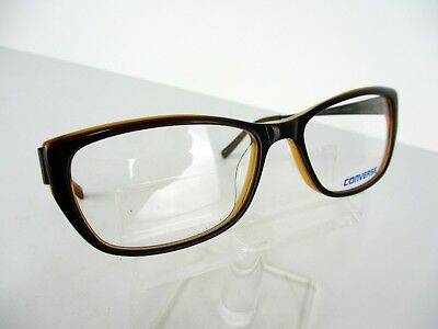 6752540ba43f4 NEW CONVERSE ALL Star Q020 UF Brown 54 x 16 140 mm Eyeglass Frames