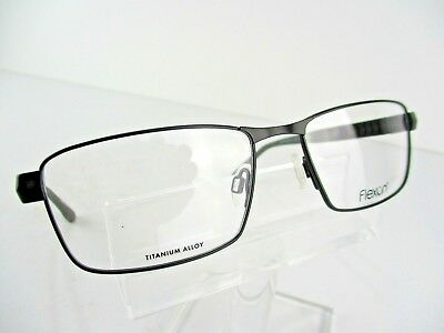 37f17245c9 FLEXON E 1111 (001) Matt Black 54 x 17 140 mm Eyeglass Frames ...