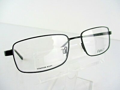 961fce8aab FLEXON MARSHALL 600 (001) Matt Black 54 x 17 140 mm Eyeglass Frames ...
