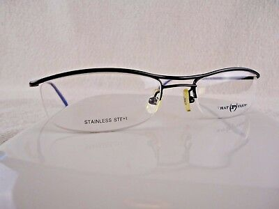 PHAT FARM MOD 501 (PL) Platinum 52 X 19 145 mm Eyeglass Frame ...