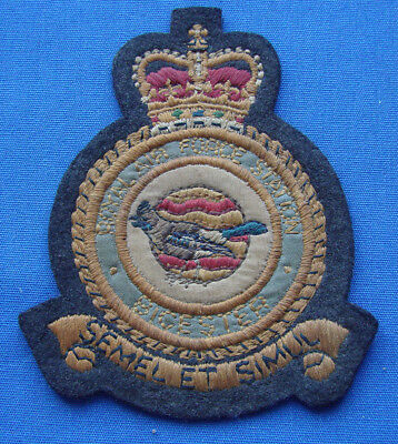 *very Rare Ww2 Royal Air Force Station Patch - Bicester Field - Estate Fresh*