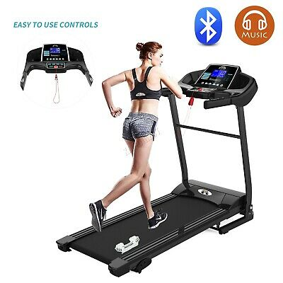 Motorized Electric Folding Treadmill Running Machine Fitness Exercise Gym MT04