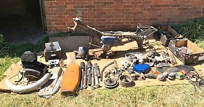 1977 MS TS250 basket case with V5C  for spares repairs NO RESERVE!