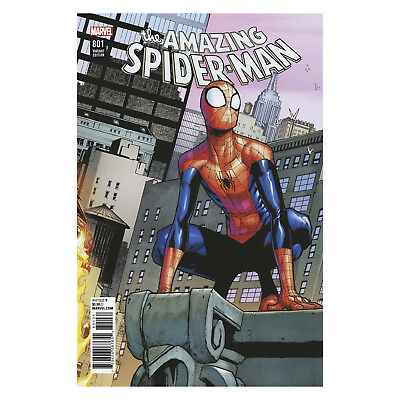 The Amazing Spider-Man 801 Ramos Connecting Variant (Vol. 4)