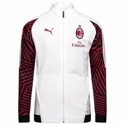 Puma AC Milan Training Stadium Jacket 2018/19 - White - Mens