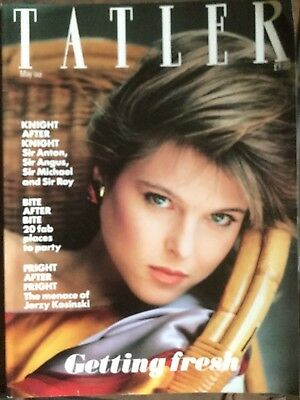 The Tatler magazine May 1982