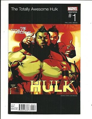 THE TOTALLY AWESOME  HULK # 1 (ASRAR HIP HOP VARIANT, Feb 2016), NM NEW