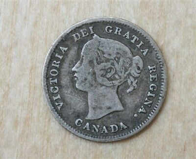 1875 H Large Date Decent Not Past Cleaned