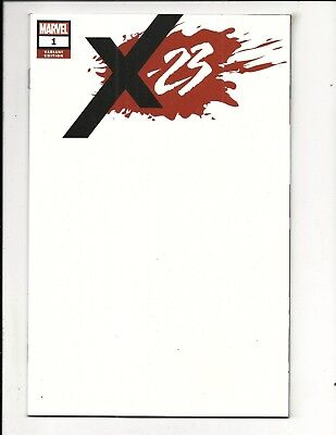 X-23 # 1 (BLANK COVER VARIANT, Sept 2018), NM NEW