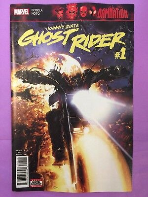 Ghost Rider Damnation Johnny Blaze 1 Vf+Nm New Comic By Sebela And Phil Noto