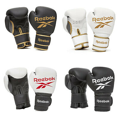 Reebok Boxing Gloves Padded Punch Sparring Bag Pad MMA Training Workout