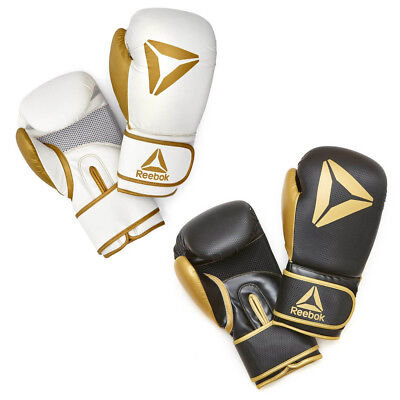 Reebok Boxing Gloves Kids Adult Training Sparring Bag Punch Tetra Impact System