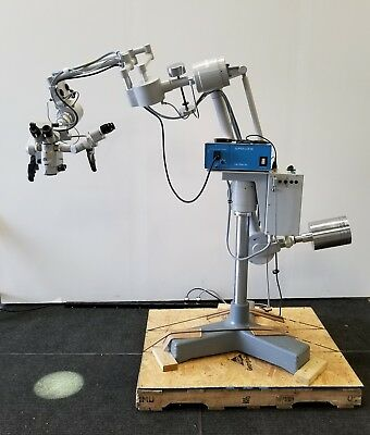 Zeiss OPMI CS-NC f170 T* Surgical Microscope with Contraves Base
