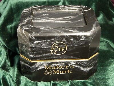 Makers Mark Gold Wax 101 proof Limited Edition Bourbon heavy Marble classy