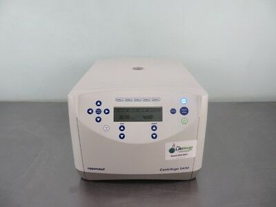 Eppendorf 5430 Centrifuge with Warranty SEE VIDEO