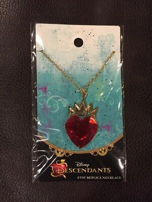 Disney Descendants Movie Evie Red Heart Necklace Halloween Costume Accessory