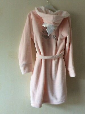 on sale online factory price high quality guarantee BNWT GIRLS PRIMARK Soft Black Dressing Gown Age 8-9 Years ...