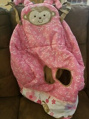 Child Of Mine Carter's Baby Girl's Shopping Cart Cover Used