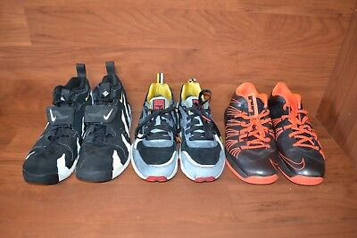 Lot of 3x Mixed Puma & Nike Shoes Lebron Men's Size 11-11.5 Used *NO BOXES*