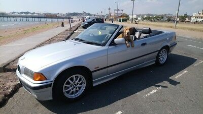 Bmw 318i Convertible Automatic In Light Blue With Very Low Milage Stunning Car