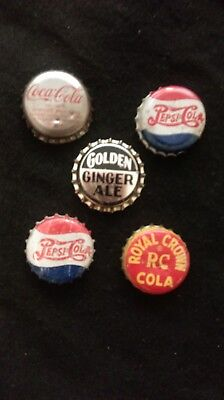 Vintage Soda Bottle Caps