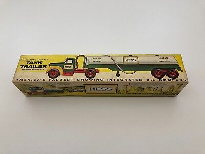 1964 Hess Mack Tanker Trailer - The First Hess Toy Truck - in box w/instructions