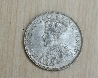 1932 Canada 25 Cents Original Mint Luster