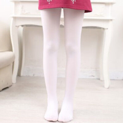 Elestic Tights Pantyhose Hosiery Stockings Velvet 2-9 Years Fancy Solid Child