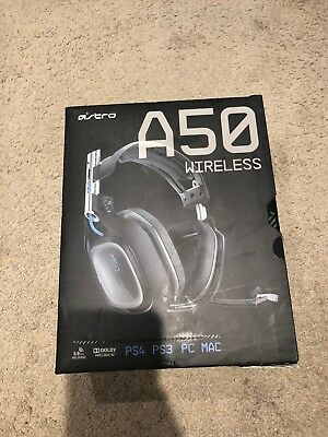 ASTRO A50 Wireless Gaming Headset and Base Station for PS4, PS3 PC, Mac