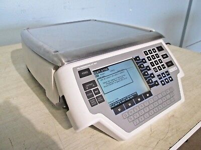 """""""HOBART-QUANTUM 1PP"""" PROGRAMMABLE COMMERCIAL WEIGHT SCALE w/LABEL PRINTER"""