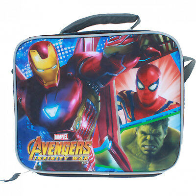 Disney Marvel Avengers Infinity War Graphic Lunch Bag with Strap