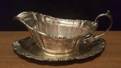 Sterling Silver Reed and Barton Gravy Boat Mint NO MONO 433 grams
