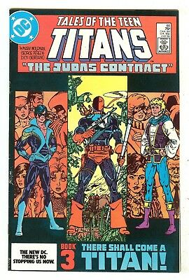 Tales Of The Teen Titans 44  1st Nightwing   Origin Deathstroke the Terminator