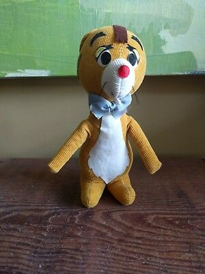 "Sears Disney 1960's ""winnie the pooh"" wood filled RABBIT toy vintage rare find"