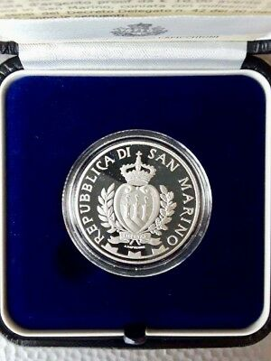 """2015 San Marino 10 Euro Silver Proof Coin """"Death of Abraham Lincoln, 150 Years"""""""