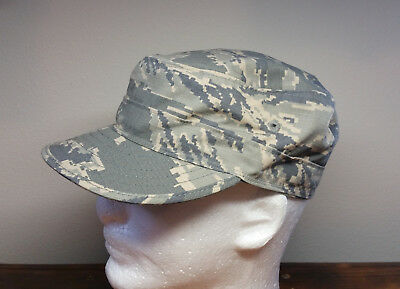 Cap Utility Air Force Camouflage Pattern Hat 7 1/4 Digital Tiger Stripe Camo ABU