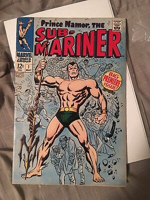 Sub-Mariner #1 Silver Age. First Solo Title. Key Issue. Mid Grade +. Look