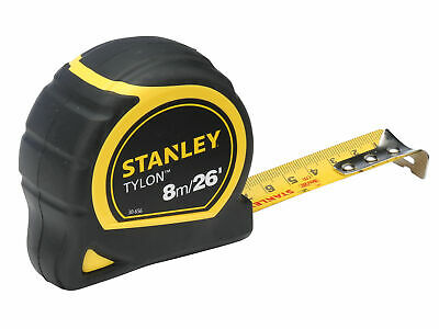 Stanley Tools Tylon Pocket Tape 8m/26ft (Width 25mm) Carded STA030656N