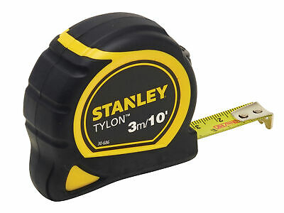 Stanley Tools Tylon Pocket Tape 3m/10ft (Width 13mm) STA030686N