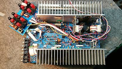 Yamaha DSP-A2070 Power Amplifier PC Board, Output connections.