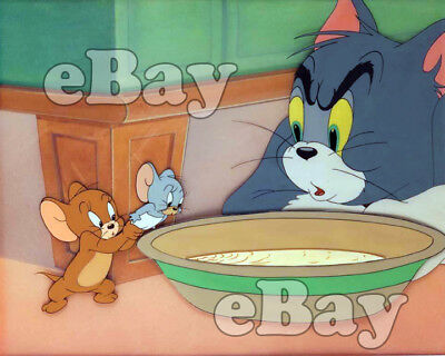 Rare! TOM AND JERRY Cartoon Color Photo HANNA BARBERA Studios MGM