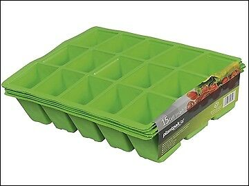 Plantpak Seed Tray Inserts 15 Cell (22 x Packs of 5) PPK70200011